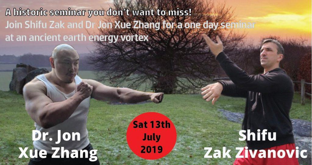 Shifu Zak & Dr Jon - Joined Seminar